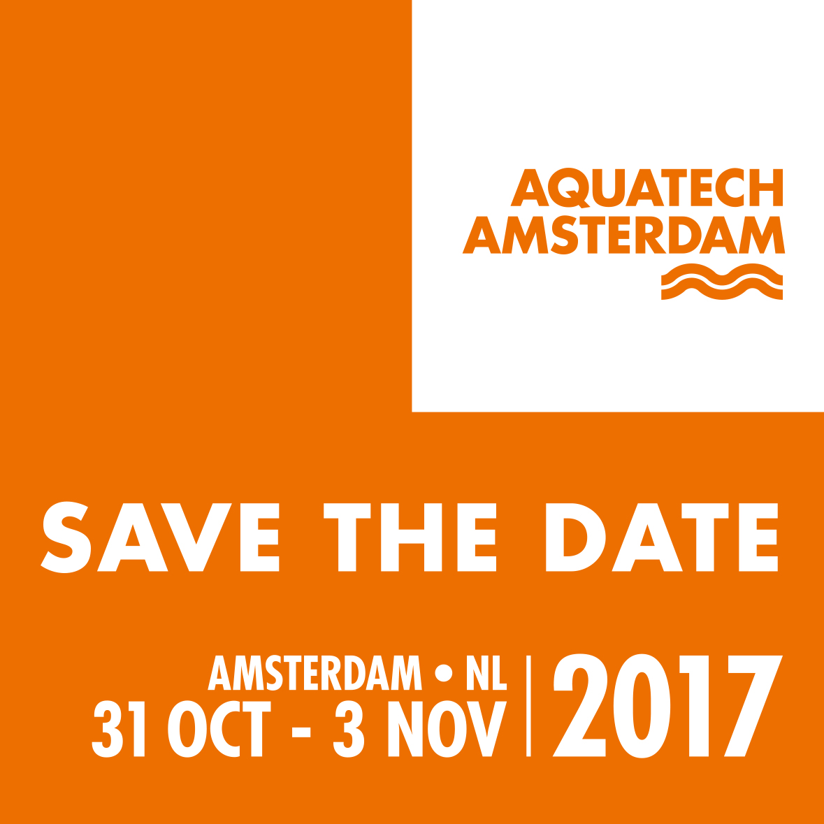 <p><strong>Aquatech Amsterdam</strong></p>