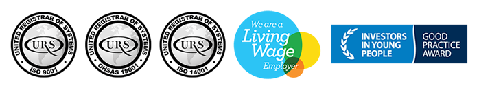 Iso Living Wage Investors In People Logo Lineup