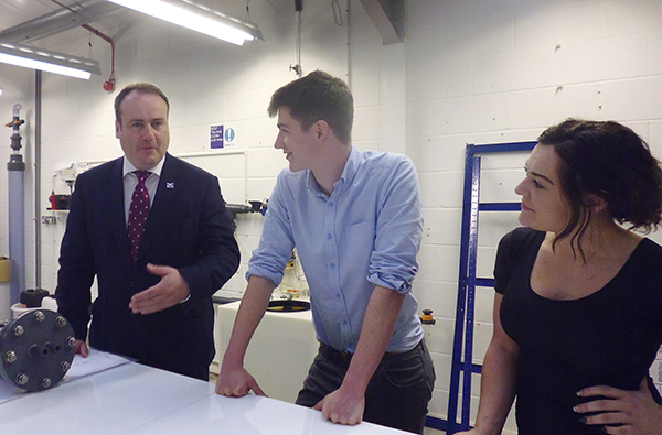 <p>Minister Paul Wheelhouse Visited Our New Projects & Engineering Site</p>